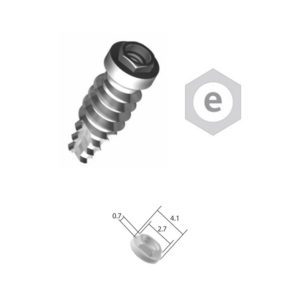 Implante Conexión Externa Hexagonal – Plataforma 4.1 – Cpo. 3.25/3.75